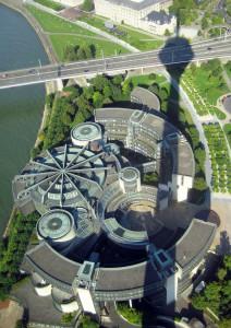 photo von Stadt Düsseldorf von oben